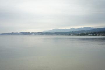滋賀の琵琶湖