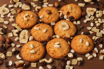 cookie with nuts