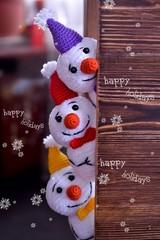new year, Christmas, toys, knitting, needlework, surprise, children, gifts