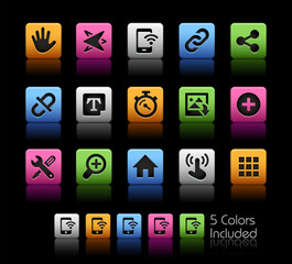System Icons Interface // ColorBox Series