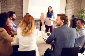 Debate on business seminar