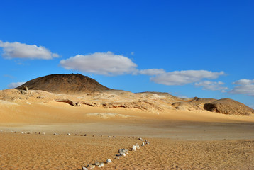Fototapete - Sahara desert, Egypt