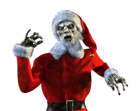 Undead Zombie Santa