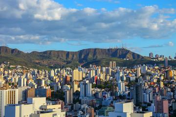 panoramic views of Belo Horizonte, capital of Minas Gerais, Brazil
