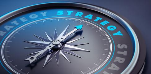 Dunkler Kompass - Konzept Strategy