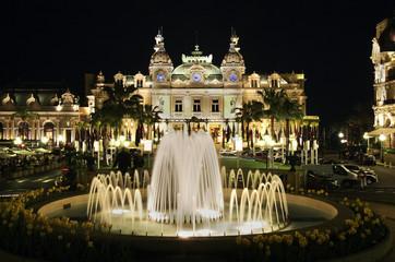Park in Monte Carlo. Principality of Monaco
