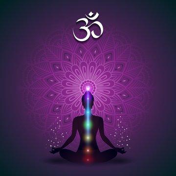 Yoga Mandala Violet