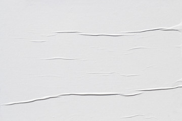 White creased poster texture Wall mural