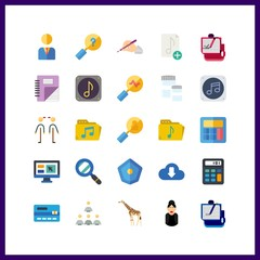 laptop icon. credit card and manager vector icons in laptop set. Use this illustration for laptop works.