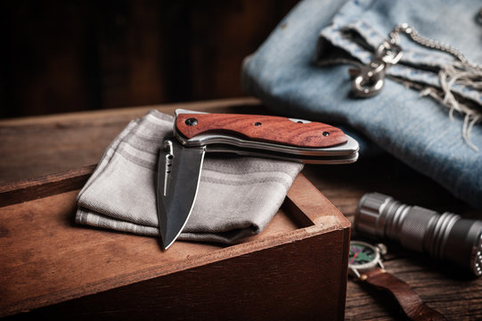 folding knife and other EDC for men