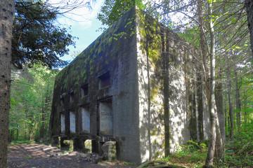 Mamerki: bunkry dowództwa Wehrmachtu