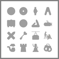 steel icon. load bearing and safebox vector icons in steel set. Use this illustration for steel works.