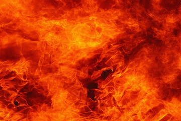 background of fire as a symbol of eternal torment