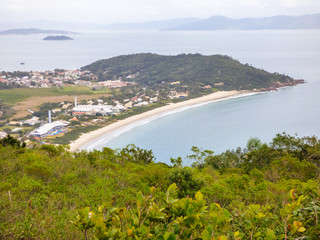 A view of Lagoinha do Norte beach from above - Florianopolis, Brazil