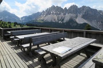 Schatzerhütte auf der Plose, Südtirol