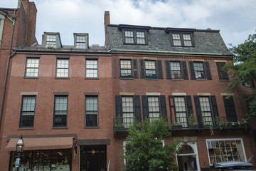Apartment building in Boston, Massachusetts