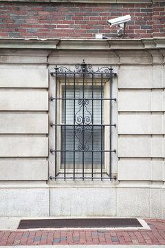 Metal gate on window