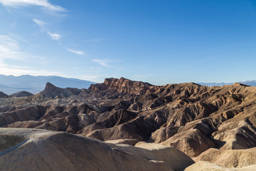 View from Zabriskie Point. Death Valley National Park. California. USA.