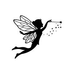 Beautiful Fairy Silhouette
