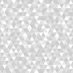 Seamless triangle pattern. Abstract geometric wallpaper of the surface. Cute tiled background. Print for polygraphy, posters, t-shirts and textiles. Beautiful texture. Doodle for design