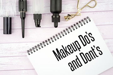 Beauty or cosmetics page headers design