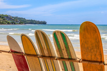 Surfboards for hire