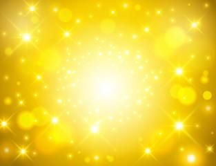 ゴールド光背景