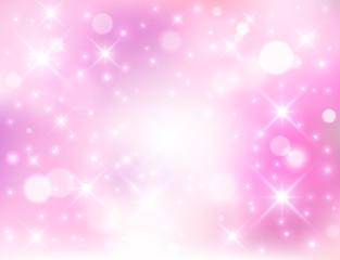 ピンク光背景