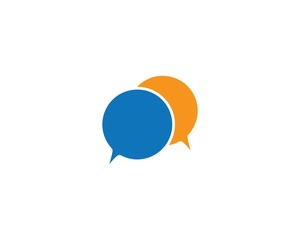 Speech bubble logo