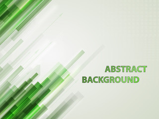 Abstract technology contour objects. Financial business presentation. Light futuristic concept, digital light green and blue. Vector modern background