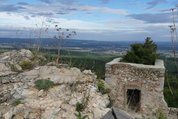 Blick ins Burgenland
