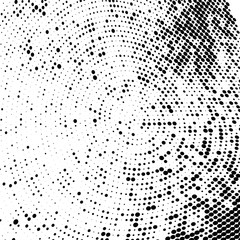 Halftone texture black and white