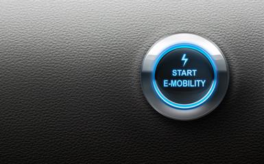 Start-Button E-Mobility Querformat