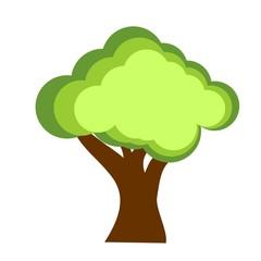 tree and bio organic symbol