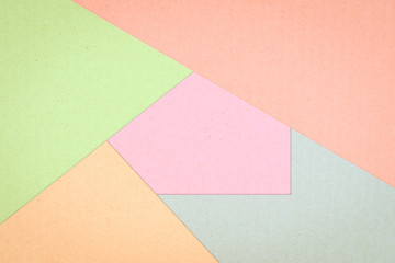 Colored paper box abstract texture background, Pastel color