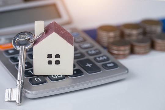 Home savings money,Home concept,Home savings