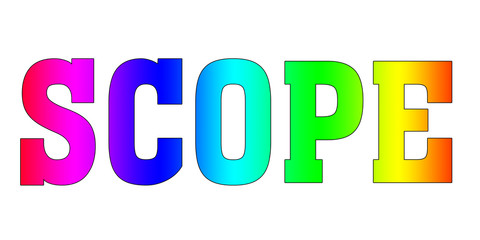 SCOPE Rainbow Multicolor logo