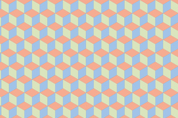 Flat geometric pattern texture. Multicolor abstract background for print and textile