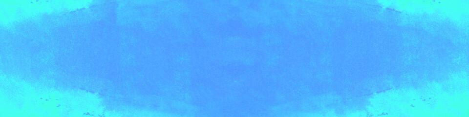 Wasserfarbe Hintergrund Header in blau