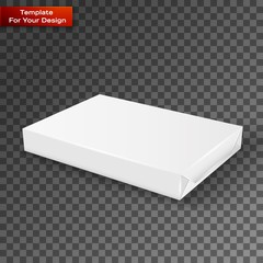 White wrap package for new design