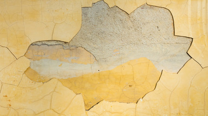 Wall Mural - Cracked concrete background or texture