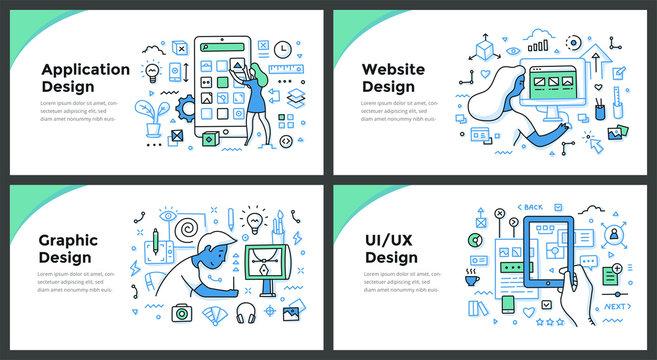 Design & Development Color Doodle Concepts