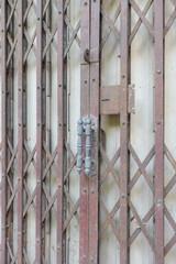 Metal roller shutter gate