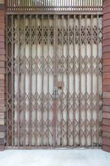Antique folding door background