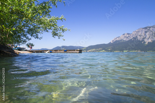 Unterrach Am Attersee österreich Stock Photo And Royalty Free