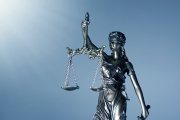 Statue Of Lady Justice - low angle view.