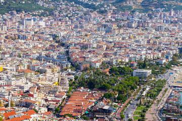Panorama view from the city Antalya / Turkey