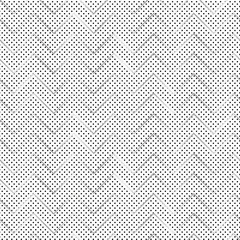 Chevron pattern on polka dots background