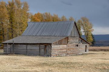 Moulton Barn, Mormons Row, Grand Teton National Park.