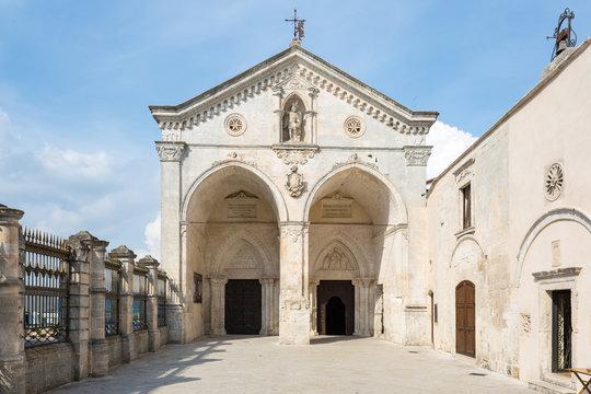 Basilica Santuario San Michele in Monte Sant Angelo, Italy